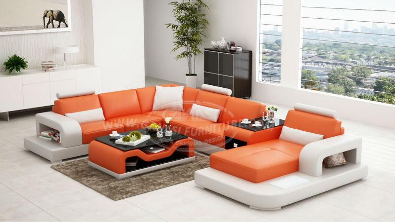 Canap s en tissu pour le salon meubles appartement moderne concepteur canap - Salon en tissus moderne ...