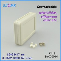 for electronics Type small Hand-held Enclosure