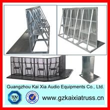 galvanized temporary mobile fence