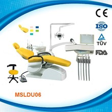 MSLDU06K supply best cheap standard size electric antique brands led light lcd monitor full computer controlled dental chair