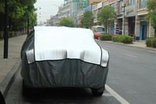 aluminum film + EPE & non-woven new arrival plastic anti hail car cover,mobile car house at factory price