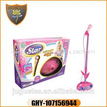 Juguetes modernos para niñas karaoke toys con luz y musica