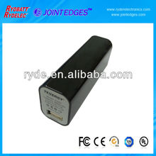 2014 hot sale 5V1A 2600mAh portable power bank for mobile phone