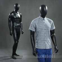 Loutoff mannequin abstract black mannequin full body male dummy