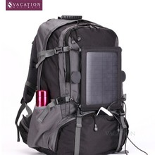 8 Watts power solar backpack for laptop