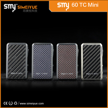 Factory price !!! 2015 Newest TC 60w Temp Control Box Mod 60W Mini Bell Cap