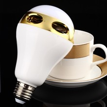 good price wireless enjoy music mini led bulb bluetooth speaker with OEM