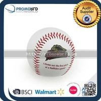 Gold baseball printed custom baseball retails baseballs