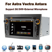 In Stock Grey Opel Astra h Car radio dvd gps navigation system with Bluetooth RDS USB IPOD Steering wheel control Canbus