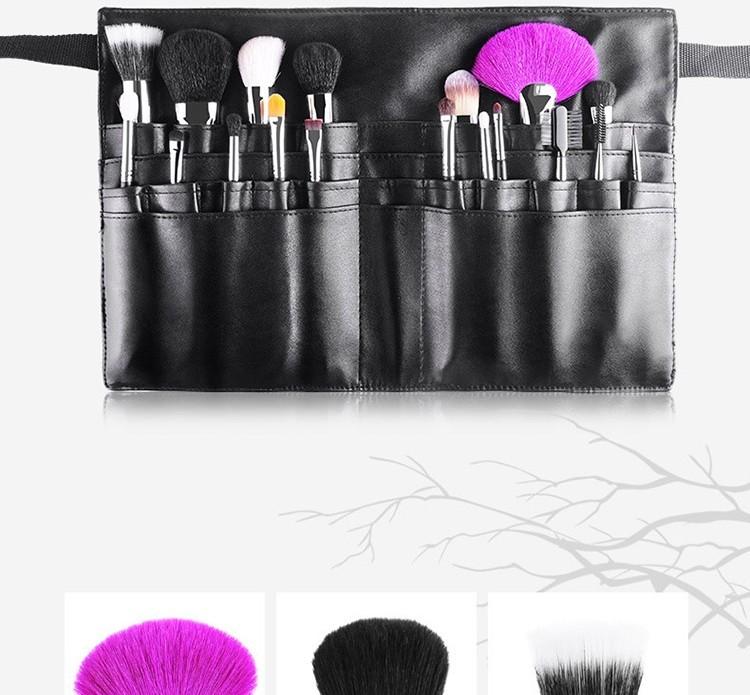 MSQ 2016 High-end Private Label 18pcs Black Make Up brush