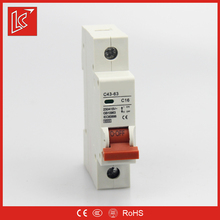 China mannufacturer LC supply long life NT50 single pole 63 amp mini circuit breaker mcb