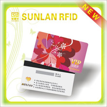 2015 New Fashion PVC Card with Magnetic Strip and Chip