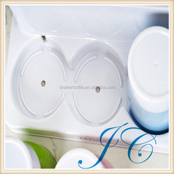 The transparent plastic toothbrush cup Creative antiscale wash gargle cup A multi-purpose creative gargle plastic