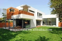 W-TEL cheap prefabricated steel frame dome house and villas for living