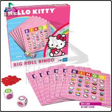 KIC-G1014 De dibujos animados de comercio de impresión de la tarjeta de juego