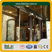 Custom High Quality Sectional Glass Remote Control Open Sliding Door