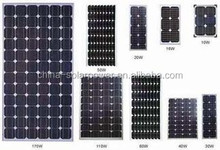 OEM A grade cell High Efficiency solar panel for 10kw generator