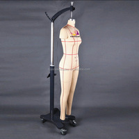full body female professional tailor dress form dummy