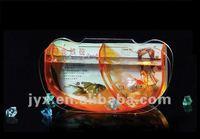 home decorative acrylic goldfish bowl