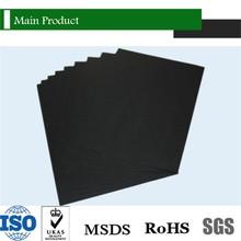 Turquía / India / Pakistan impresión negro Paper Popular 180 gsm completo negro del color de papel