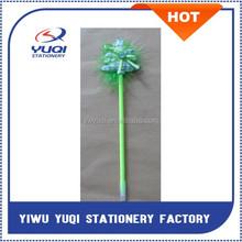 Christmas Tree Ballpoint Pen Feather Plastic Ballpoint Pen