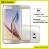 For S6 glass screen protector,full coverage tempered glass screen protector for Samsung S6