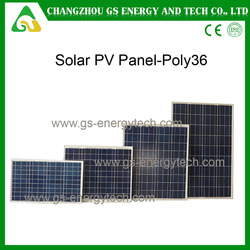 China best price hot sale poly high efficiency stock solar panel 180W