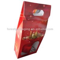 2 BOTTLE PAPER WINE CARRIER FPT800147