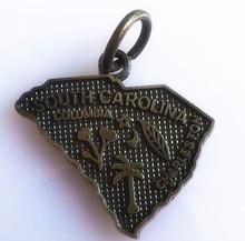 South Carolina us state charms/pendants jewelry for bracelets/necklace