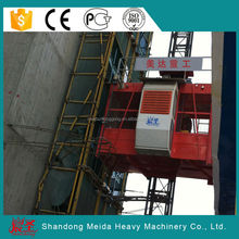 Supply safety building hoist SC200, 2*2t double cage sc200 construction lift