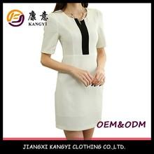 Women Office Casual Dress,Western Style High End Dress