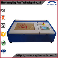 red dot position air blast 40w 3020 high precision iphone mobile screen protector laser cutting machine