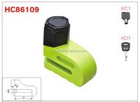 HC86109 spray paint 7 Pin flat mechanism mortorcycle disc brake lock