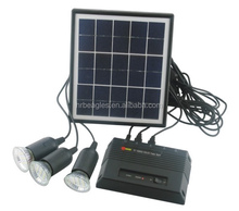 4W Portable Solar Lighting System
