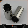 auto rear exhaust muffler pipe for bmw f30 steel exhaust tips