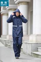 fashion polyester nylon oxford with PU PVC coating durable non-toxic eco-friendly raincoat poncho for biker