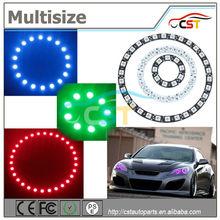 de alta calidad universal 90mm multicolor led anillos de halo