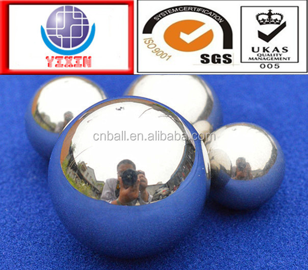 SUS304 316 440C 420 stainless steel ball made in china
