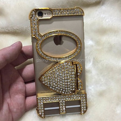 2015 Stock Diamond Cell Phone Case For iPhone 5 5s 5G