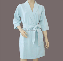 2014 New Microfiber Fleece Bathrobe/Bath Wrap
