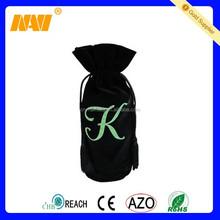 2015 custom velvet wine bottle bag