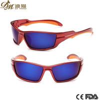outdo 100% uv400 protect sunglasses for ski/cheap custom sport sunglasses