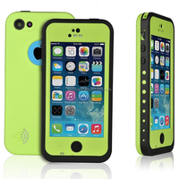 Waterproof case For Iphone 5C Shockproof Dirt Snow Proof Durable Case Cover