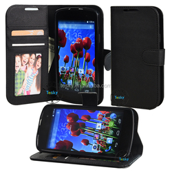 High Qaulity PU Wallet Leather Mobile Phone Cover Case For Blu Studio X,Fold Stand Leather Case,Book Leather Case Wholesale