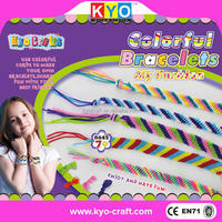 Factory supply jewelry making rubber band bracelets with loom