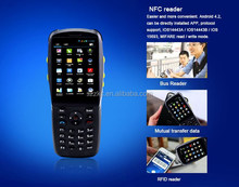 Business data management handheld terminal industrial PDA with wifi laser barcode scanner NFC reader android
