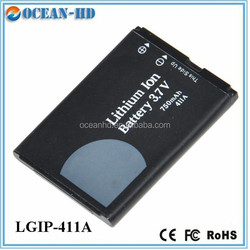Real capacity long time mobile phone battery for LG LGIP-411A