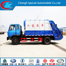 4*2 dongfeng garbage can cleaning truck garbage container
