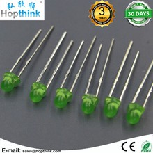 3mm Green 2 Pins Round Led Light Emitting Diode Super Bright Lamp Bulb