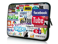 custom print neoprene laptop sleeve bag case,15 6 neoprene laptop sleeve,flower print neoprene laptop sleeve